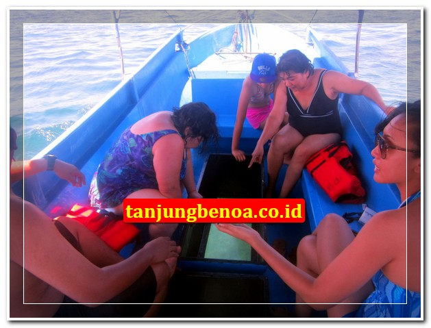 GBB glass bottom boat Tanjung Benoa Bali
