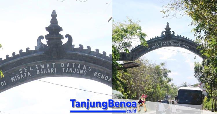 Gapura Selamat Datang Tanjung Benoa